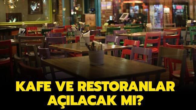 """Kafe ve restoranlar son durum nedir"""""""