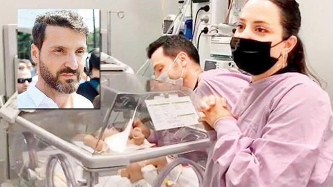 Sinan Özen'in bağırsak rahatsızlığı olan 10 aylık kızı Neva eski sağlığına kavuştu