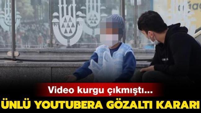 Video kurgu çıkmıştı... Ünlü youtubera gözaltı kararı