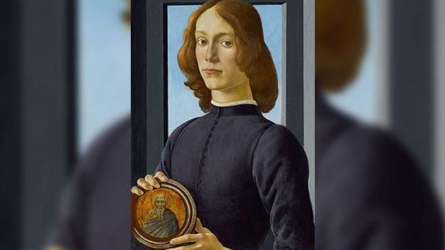 15'inci yüzyıla ait... Botticelli'nin tablosu dudak uçuklattı