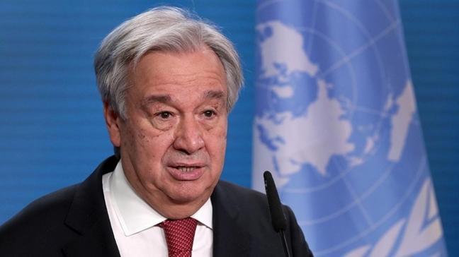 """BM Genel Sekreteri Guterres'ten """"Kıbrıs"""" açıklaması"""