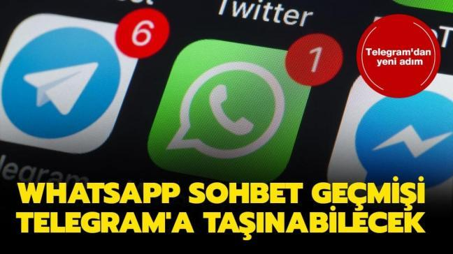 "WhatsApp sohbeti Telegram'a nasıl aktarılır"" WhatsApp sohbet geçmişi Telegram'a aktarma yöntemi!"