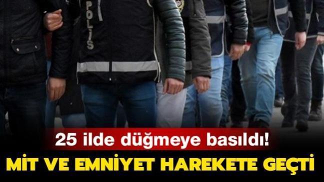 Ankara merkezli 25 ilde düğmeye basıldı! Büyük operasyon