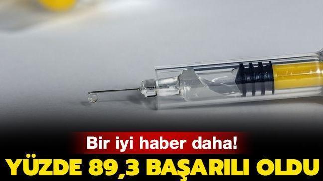 Bir iyi haber daha! Kovid-19'a karşı geliştirilen aşı yüzde 89,3 başarılı oldu