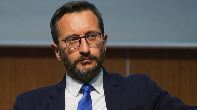 """İletişim Başkanı Fahrettin Altun'dan """"one minute"""" paylaşımı"""
