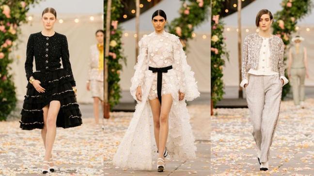 Paris Couture haftasının yıldızı Chanel oldu