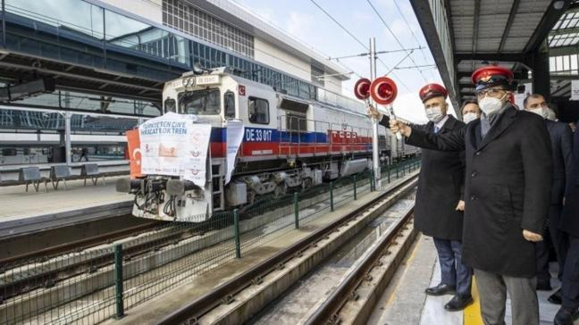 Rusya ve Çin'e gidecek ihracat trenleri Ankara'dan yola çıktı