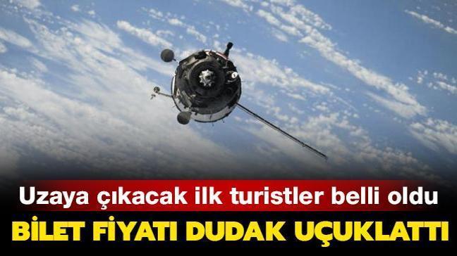 Uzay turizmi firması Axiom, ilk uzay turistlerinin bilet fiyatlarını açıkladı