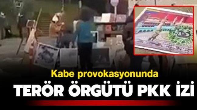 Boğaziçi Üniversitesi'ndeki Kabe provokasyonunda terör örgütü PKK izi