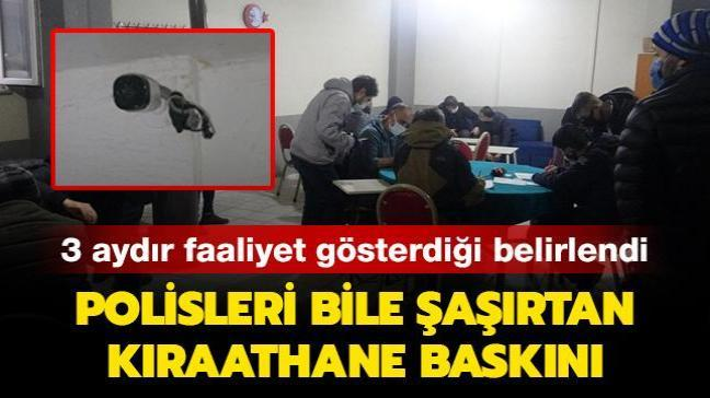 Bursa'da kıraathane baskını: Güvenlik önlemleri polisleri bile şaşırttı
