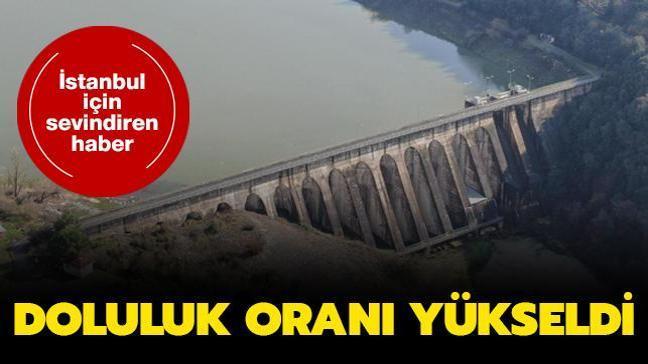 İstanbul için sevindiren haber: Barajlarda doluluk oranı yükseldi