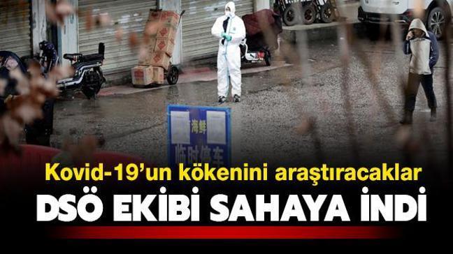 Kovid-19'un kökenini araştıracaklar... DSÖ ekibi Vuhan'da çalışmalara başladı