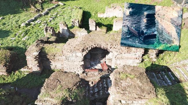 İstanbul'un göbeğinde Ayasofya'dan bile eski! Tarihi kilise evsizlere mekan oldu