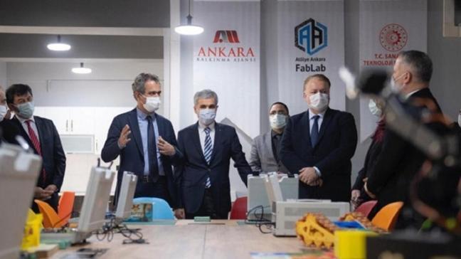 MEB'in ilk açık erişimli atölyesi Ankara'da kuruldu: Öğrencilerin yanı sıra vatandaşların kullanımına açık olacak