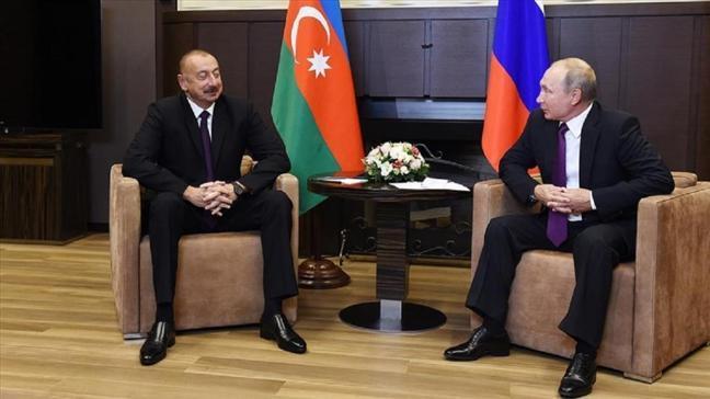 Son dakika haberleri... Putin ve Aliyev, Türk-Rus Ortak Gözlem Merkezini görüştü