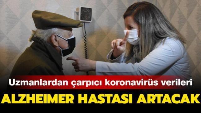 Alzheimer hastası artacak! Uzmanlardan çarpıcı koronavirüs verileri...