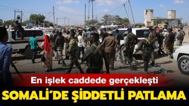 Son dakika haberi: Somali'de şiddetli patlama!