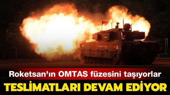 Roketsan'ın geliştirdiği OMTAS füzesi taşıyorlar: KAPLAN ve PARS STA'ların teslimatları devam ediyor