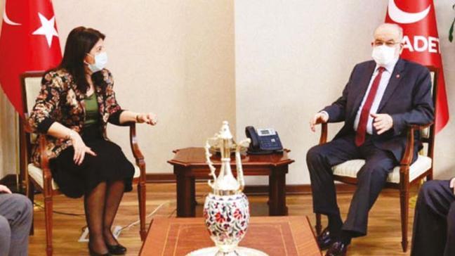 'Saadet-HDP düşman değil'