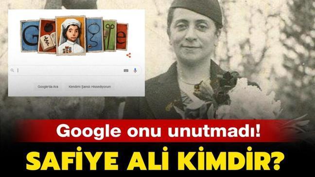 """Safiye Ali kimdir"""" Google Safiye Ali'yi unutmadı! İşte hakkından tüm merak edilenler..."""