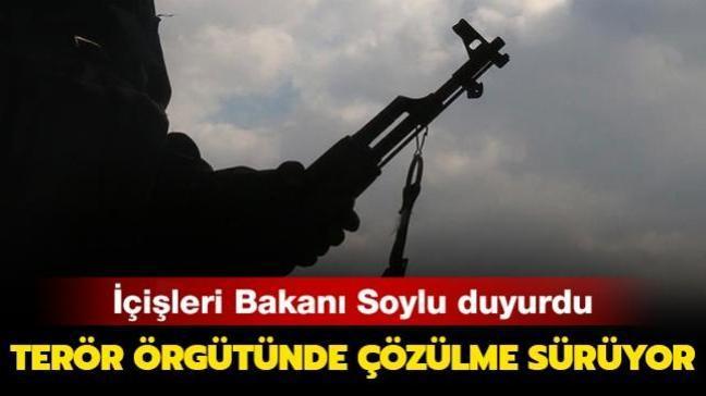 İçişleri Bakanlığı açıkladı... 5 PKK'lı terörist teslim oldu