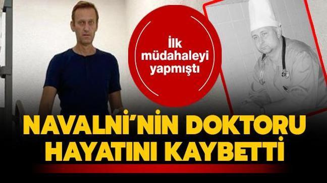 İlk müdahaleyi yapmıştı... Rus muhalif lider Navalni'nin doktoru hayatını kaybetti