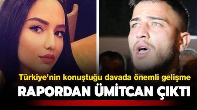 Son dakika haberi: Aleyna Çakır davasında flaş gelişme! Ümitcan Uygun'a ait DNA çıktı