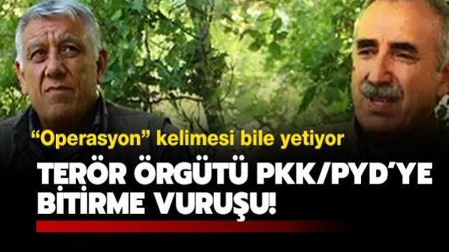 Terör örgütü PKK/PYD'nin sözde yöneticileri arasında büyük panik hakim