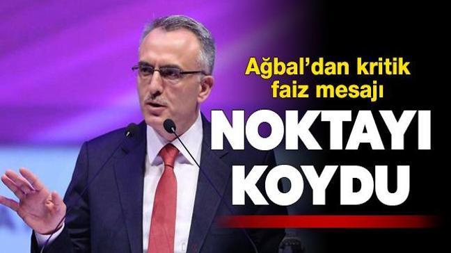 Merkez Bankası Başkanı Ağbal'dan faiz indirimi açıklaması: Gündemimizde yok