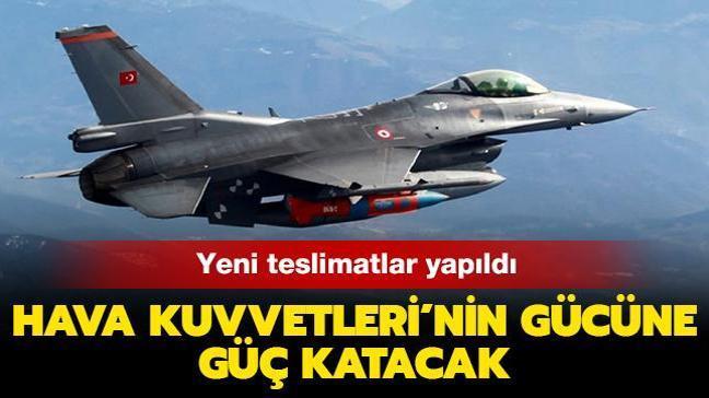 Hava Kuvvetleri'nin gücüne güç katacak! KGK güdüm kitlerinin yeni teslimatları yapıldı
