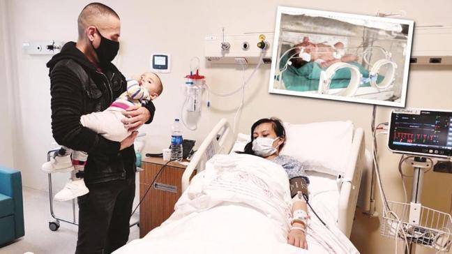 İstanbul Havalimanı'nda dünyaya gelen ilk bebek