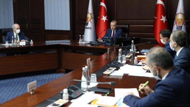 Son dakika haberi: Başkan Erdoğan başkanlığında toplanan AK Parti MYK toplantısı sona erdi
