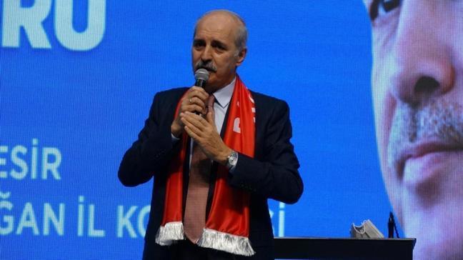 AK Parti Genel Başkanvekili Kurtulmuş: Yeni anayasa için bir kere daha çağrı yapıyoruz