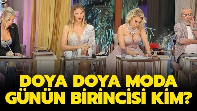 """Doya Doya Moda gün birincisi belli oldu! 10 Şubat Doya Doya Moda ödülü kim kazandı"""""""