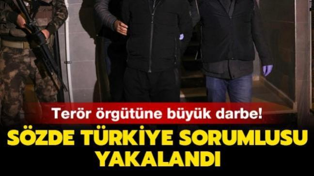 DHKP-C terör örgütüne büyük darbe! Sözde Türkiye sorumlusu yakalandı