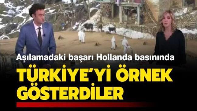 Türkiye'nin aşılamadaki başarısı Hollanda basınında ile ilgili görsel sonucu