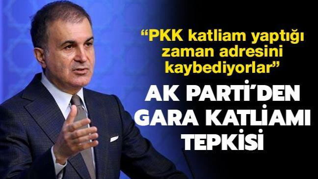 AK Parti'den ABD'ye Gara katliamı tepkisi
