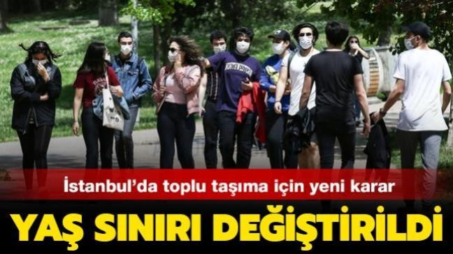 İstanbul'da toplu taşıma için yeni karar: 20 yaş altı yasağı 12 yaş altına çekildi