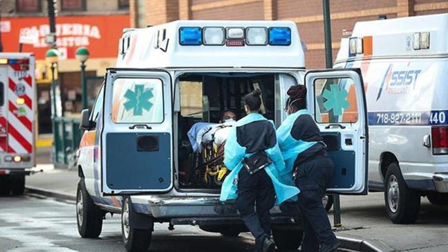 ABD'de koronavirüsten son 24 saatte bin 110 kişi hayatını kaybetti