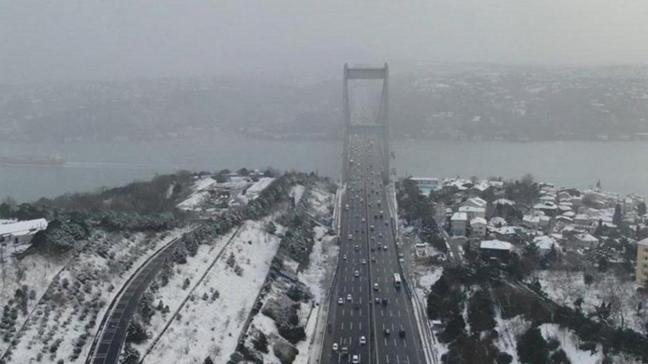 AKOM açıkladı: İstanbul'da kar kalınğı 30 santimetreye kadar çıktı