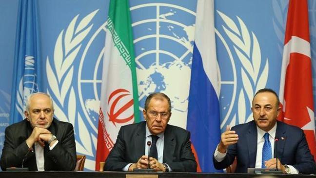 Astana garantörleri Türkiye, İran ve Rusya 15. kez toplanacak