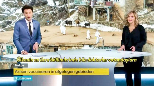 Hollanda televizyonu haber yaptı! 'Türkler aşılamada bizden iyi'