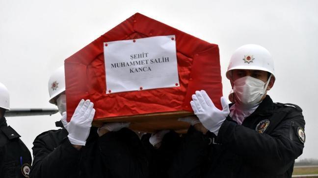 Terör örgütü PKK tarafından şehit edilen Muhammet Salih Kanca'nın cenazesi Samsun'da
