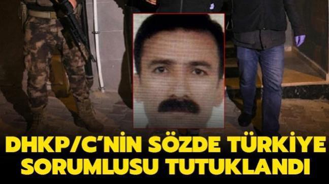 Terör örgütü DHKP/C'nin sözde Türkiye sorumlusu tutuklandı