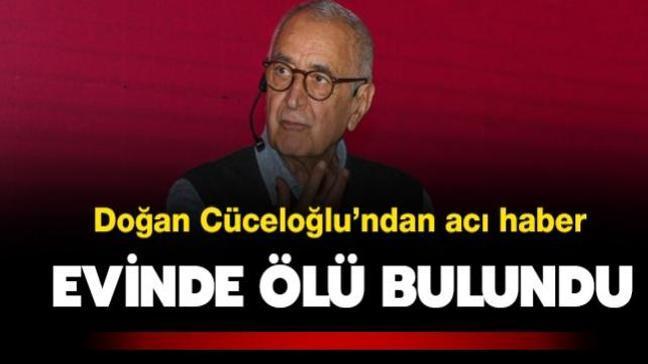 Evinde ölü bulunan Doğan Cüceloğlu'nun düşme sonucu hayatını kaybettiği belirlendi