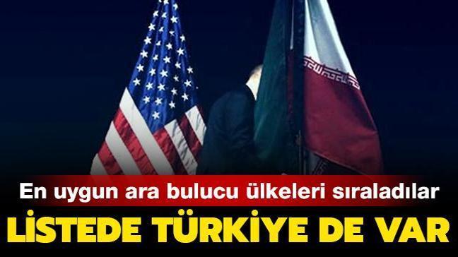 """""""İran ve ABD hattında ara buluculuk için Türkiye, Katar, Rusya ve Çin en uygun ülkeler"""""""