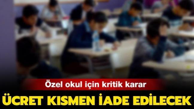 İzmir'de bir veli özel okula yaptığı ödemeyi pandemi nedeniyle geri alacak