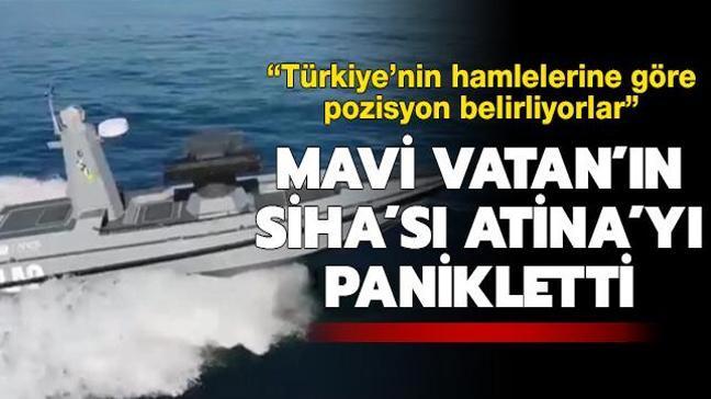 Mavi Vatan'ın SİHA'sı ULAQ Atina'yı panikletti