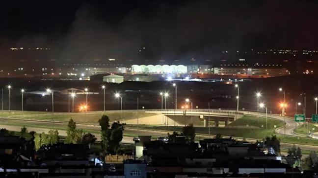 Erbil'deki saldırıda 14 roket fırlatıldığı ortaya çıktı