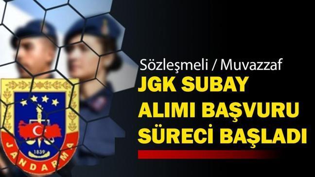 """MSB personel temin Jandarma subay alımı başvuru işlemi! JGK 2021 subay alımı başvuru şartları neler"""""""